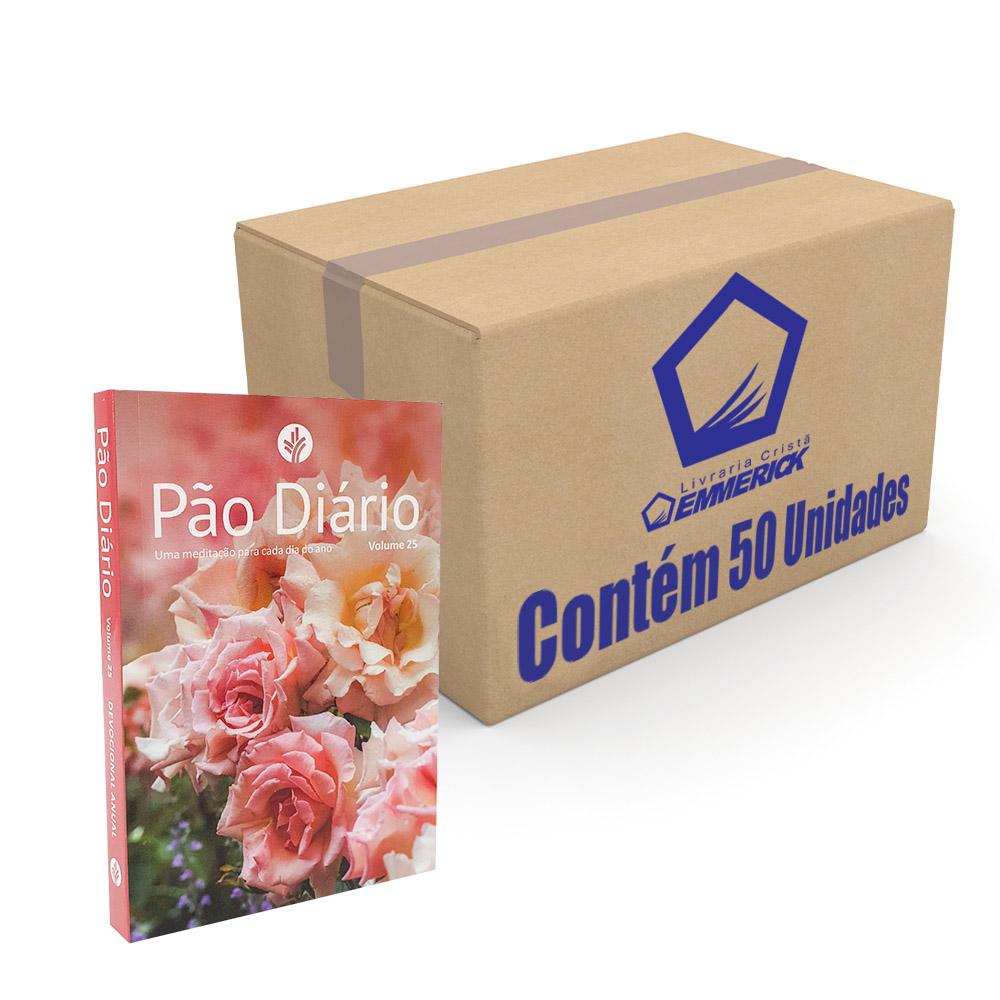 Caixa Pão Diário Vol. 25 | Ano 2022 | Capa Feminina | 50 Unidades
