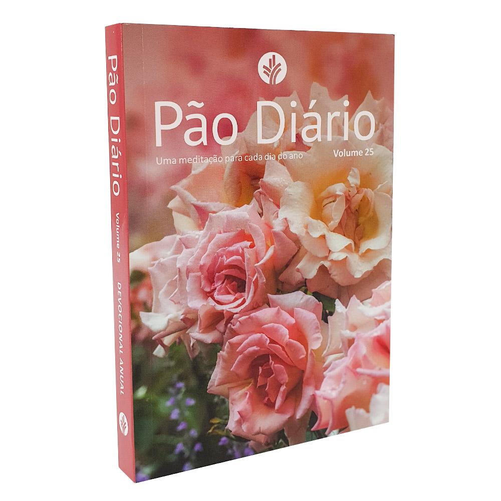 Caixa Pão Diário Vol. 25   Ano 2022   Capa Feminina   10 Unidades