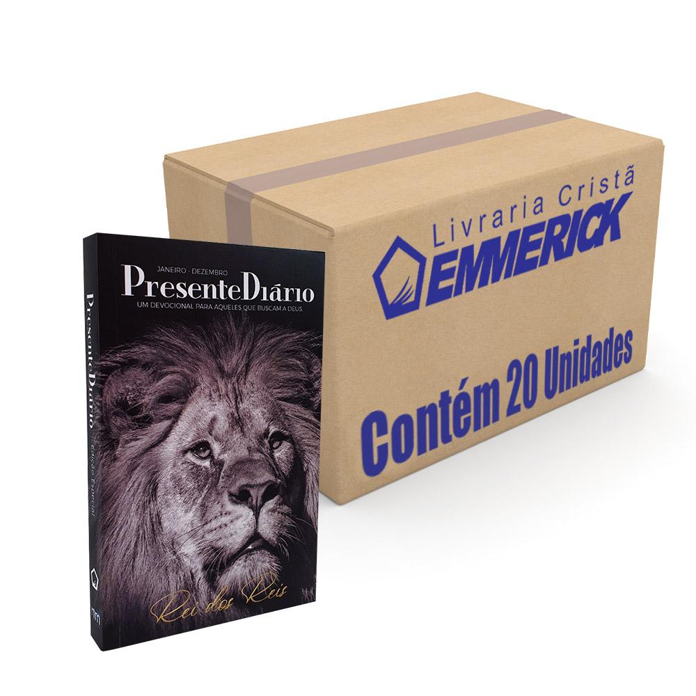Caixa Presente Diário | Edição Especial | Capa Leão Rei dos reis - 20 unidades
