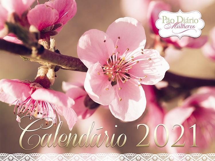 Calendário de Parede 2021 - Pão Diário - Mulheres