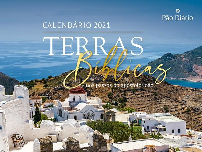 Calendário de Parede 2021 - Pão Diário - Terras Bíblicas