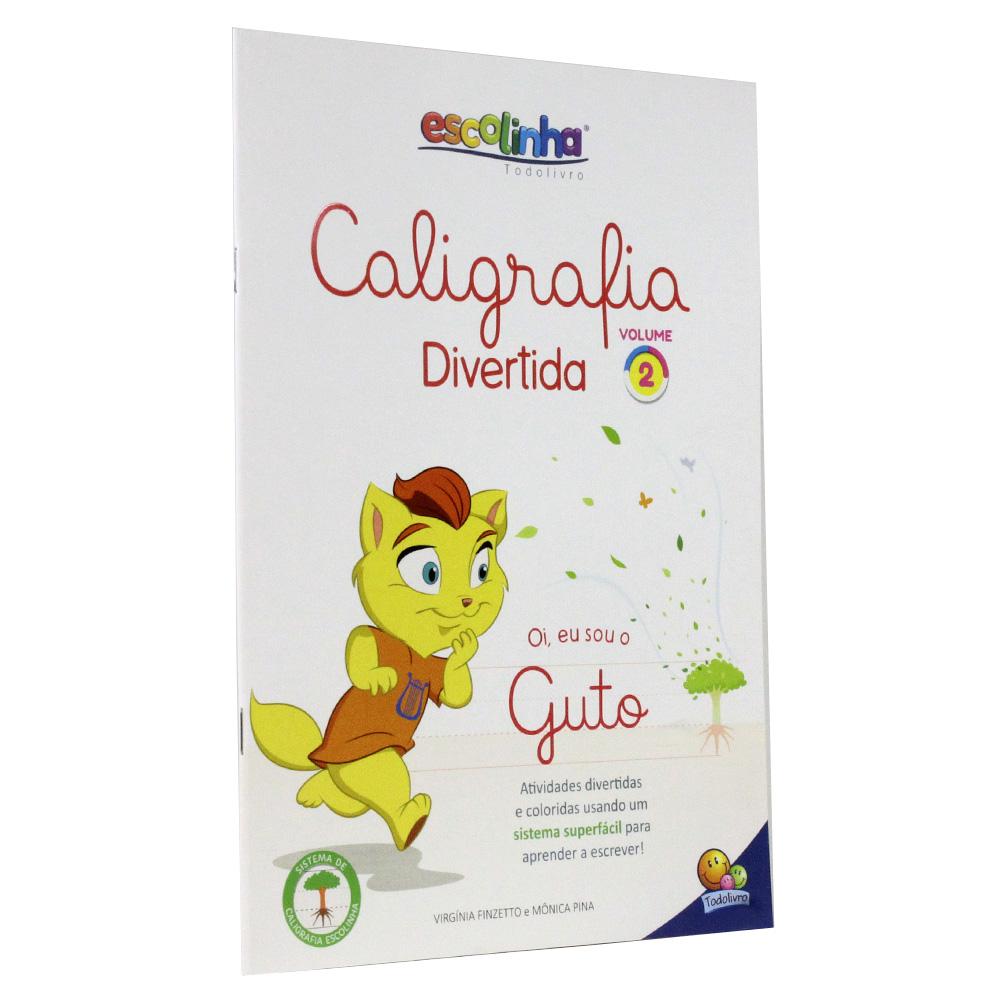 Caligrafia Divertida III - Vol. 2 | Escolinha TodoLivro
