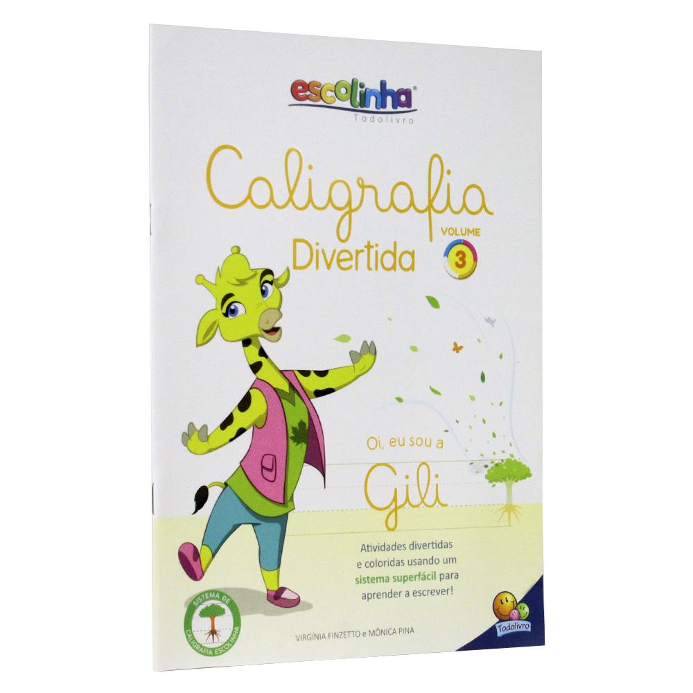 Caligrafia Divertida III - Vol. 3 | Escolinha TodoLivro