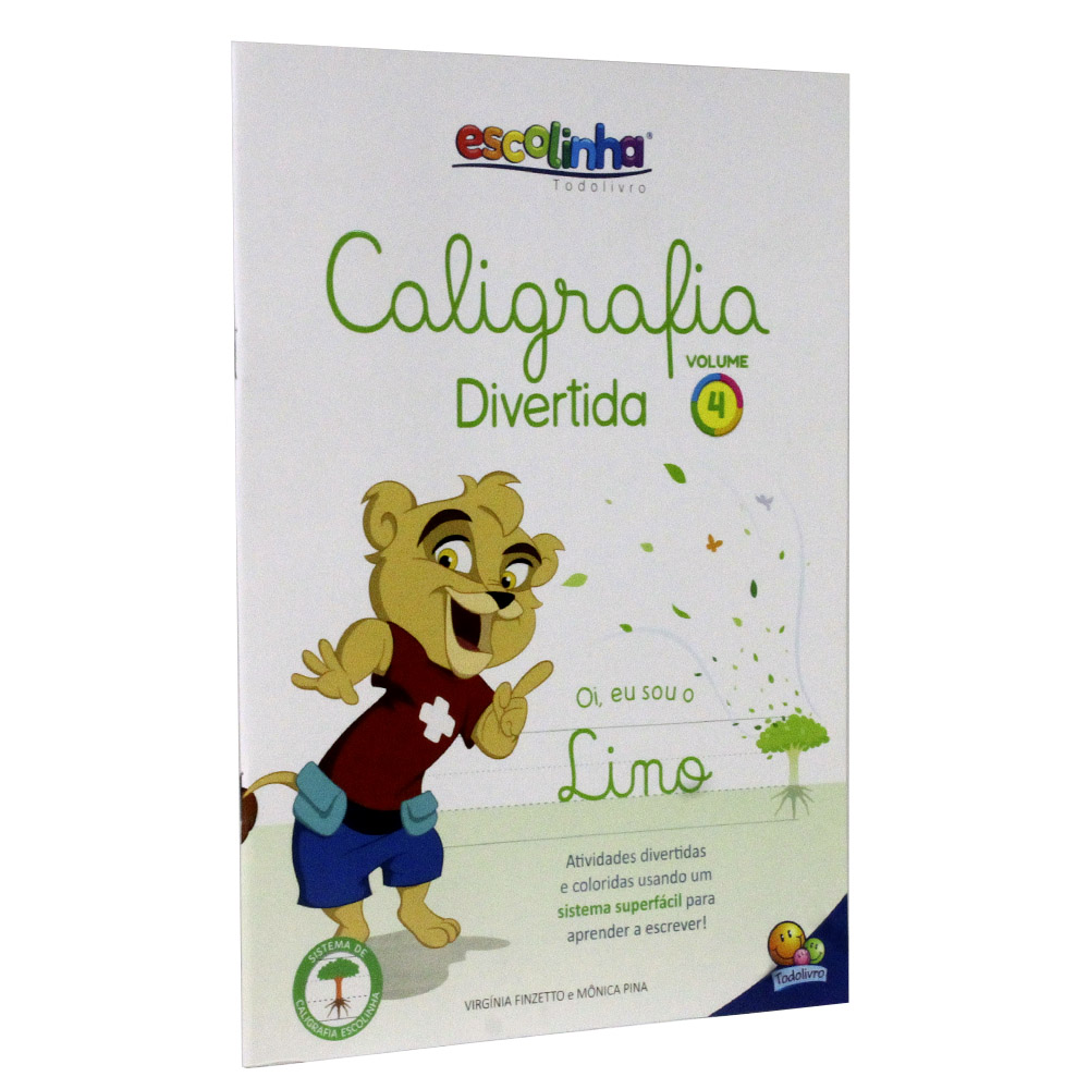 Caligrafia Divertida III - Vol. 4 | Escolinha TodoLivro