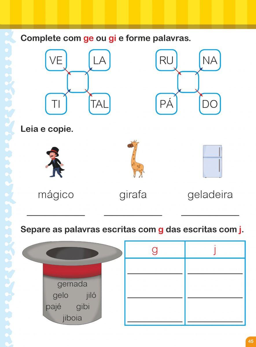Cartilha de Alfabetização Caminho do Saber - Aprendendo a escrever