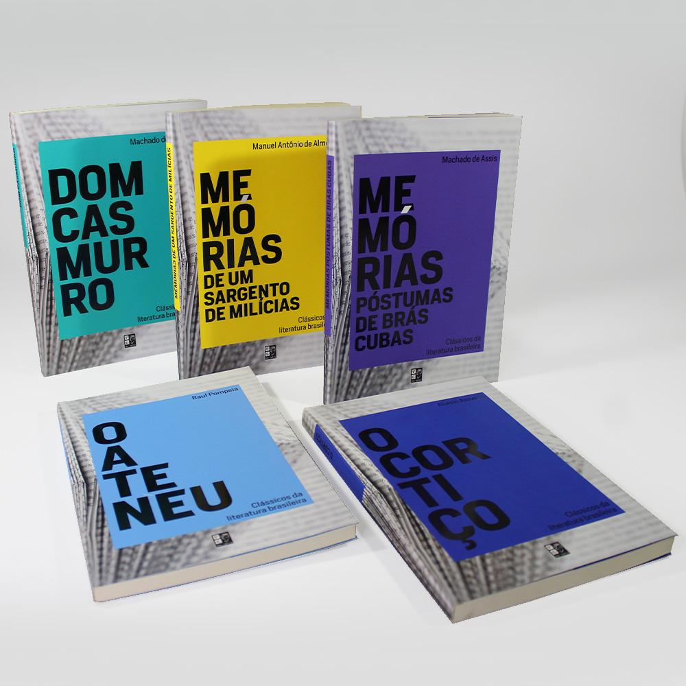 Coleção Clássicos Da Literatura Brasileira | 10 Livros | Pé Da Letra