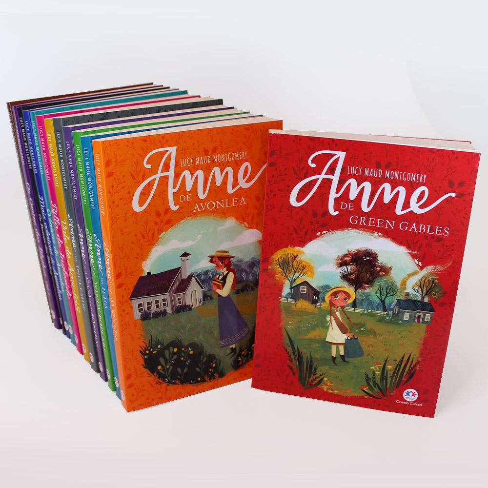 Coleção Completa Anne de Green Gables | 13 Livros