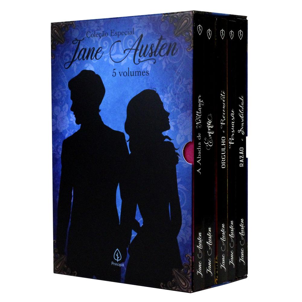 Coleção Especial Jane Austen | Box com 5 Livros | Principis