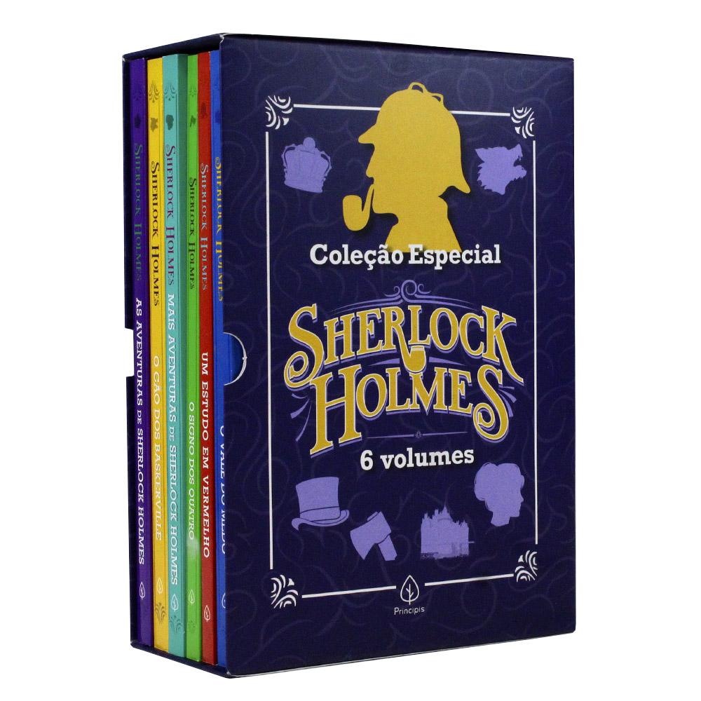 Coleção Especial Sherlock Holmes | Box com 6 Livros
