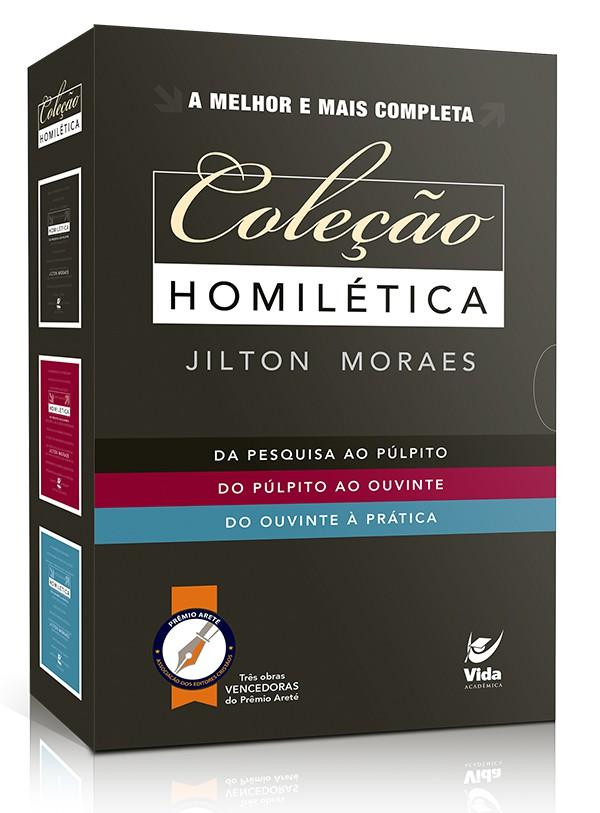 Coleção Homilética - Jilton Moraes
