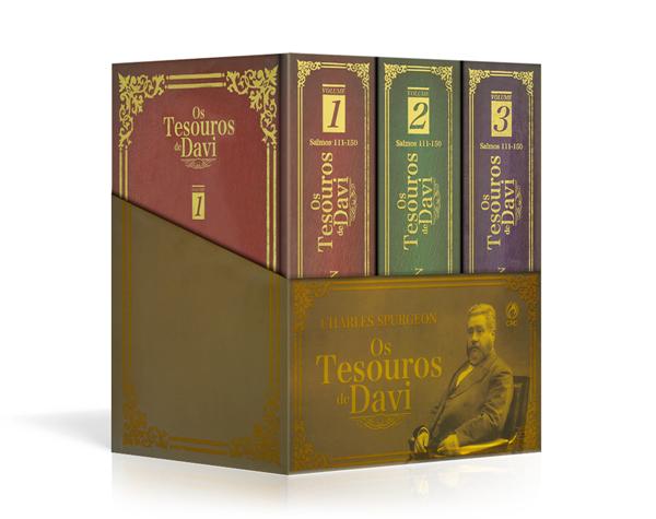 Coleção Os Tesouros de Davi C. H. Spurgeon
