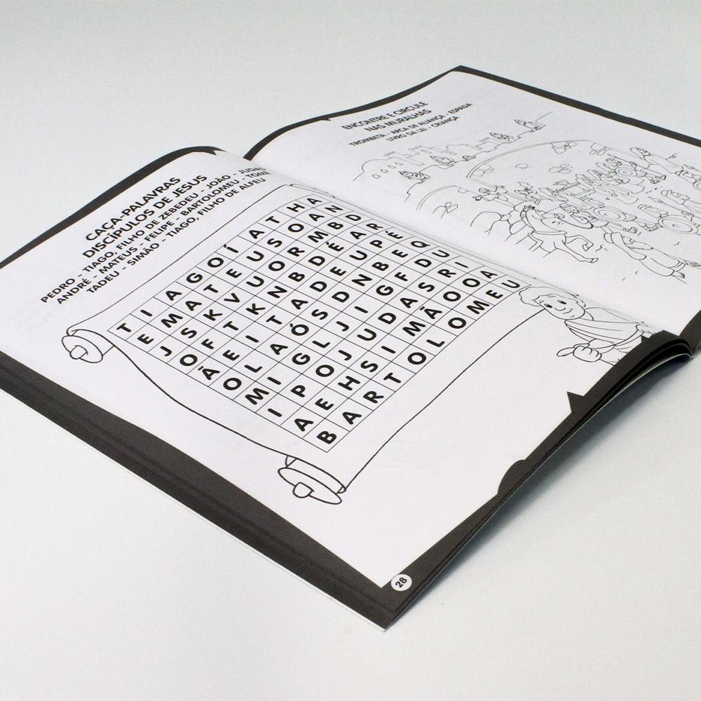 Colorir & Atividades | Bíblia - Passatempos (100 páginas)