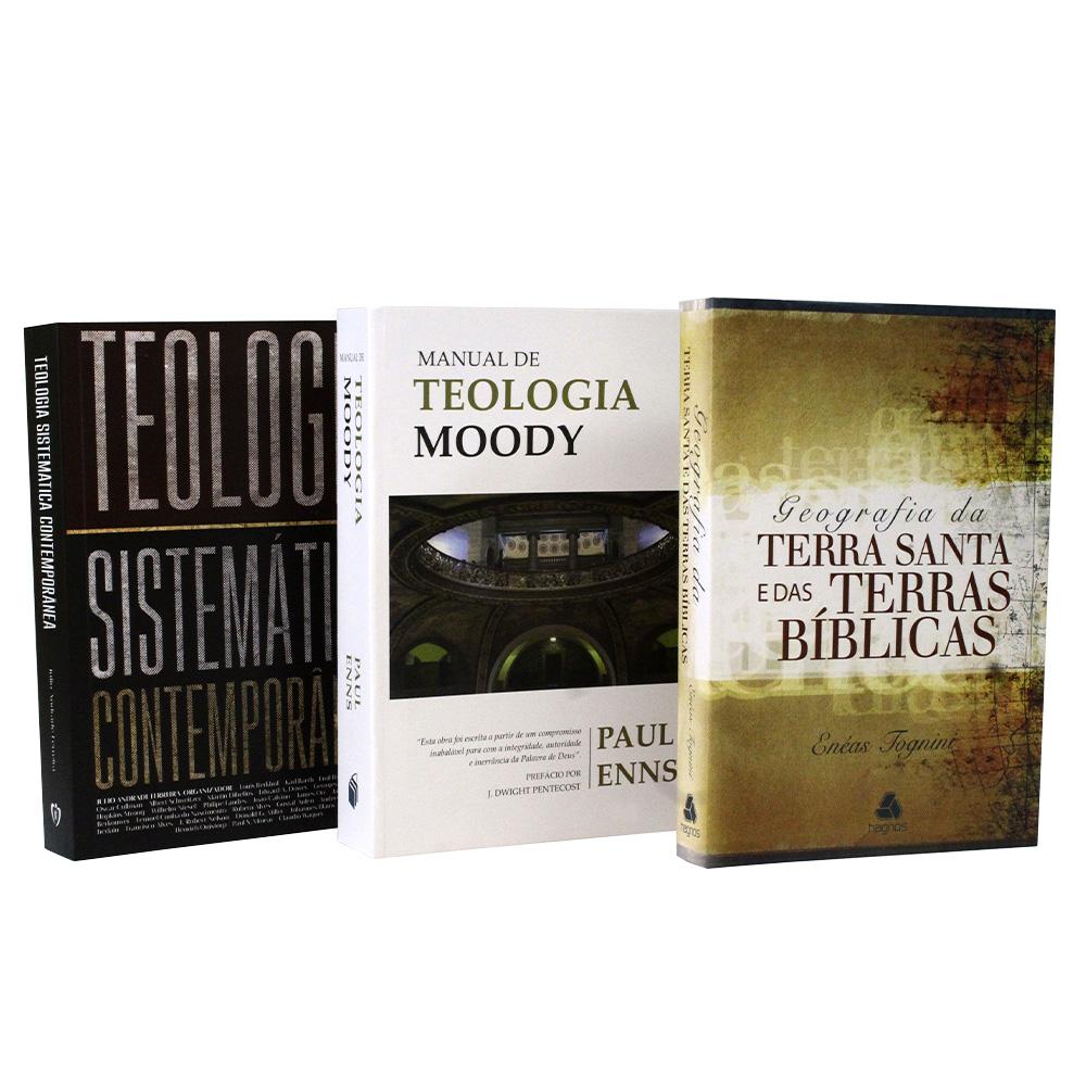 Combo Teológico 1 | 5 Livros
