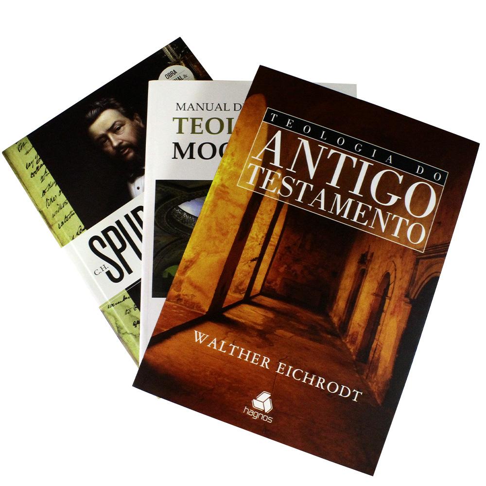 Combo Teológico 2 | 3 Livros