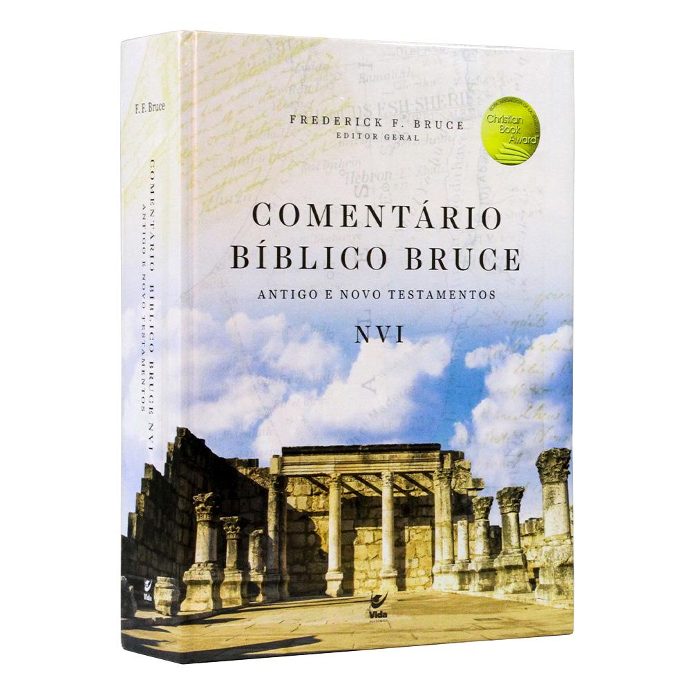 Comentário Bíblico NVI | Antigo e Novo Testamento | F. F. Bruce