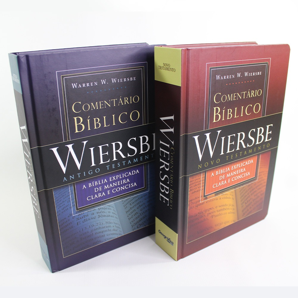 Comentário Bíblico Wiersbe - 2 Volumes
