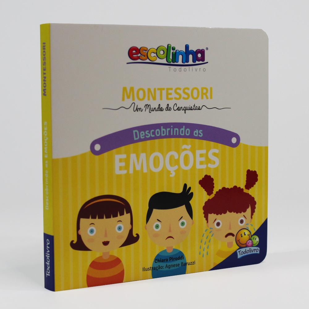 Descobrindo As Emoções | Escolinha Montessori | Escolinha Todolivro