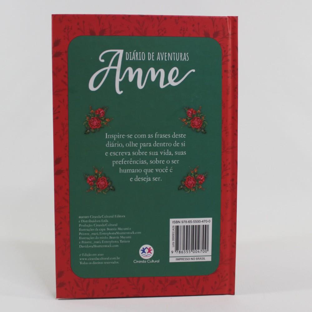 Diário de Aventuras Anne - Edição Luxo