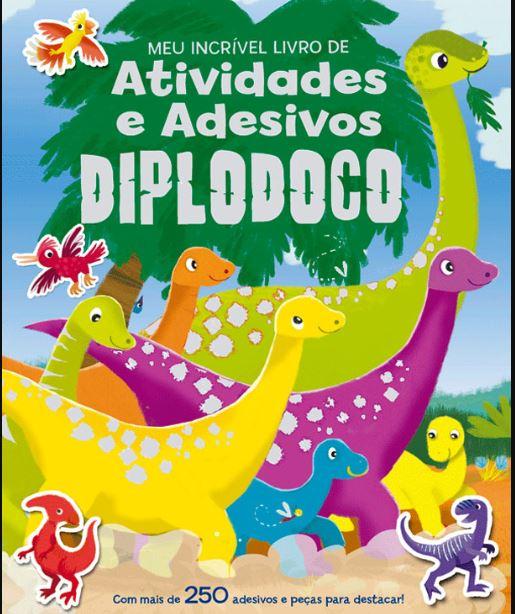 Diplodoco - Atividades e adesivos