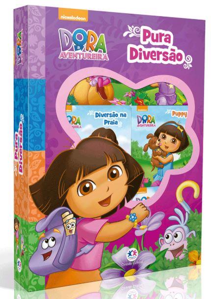 Box Dora Aventura - Pura Diversão