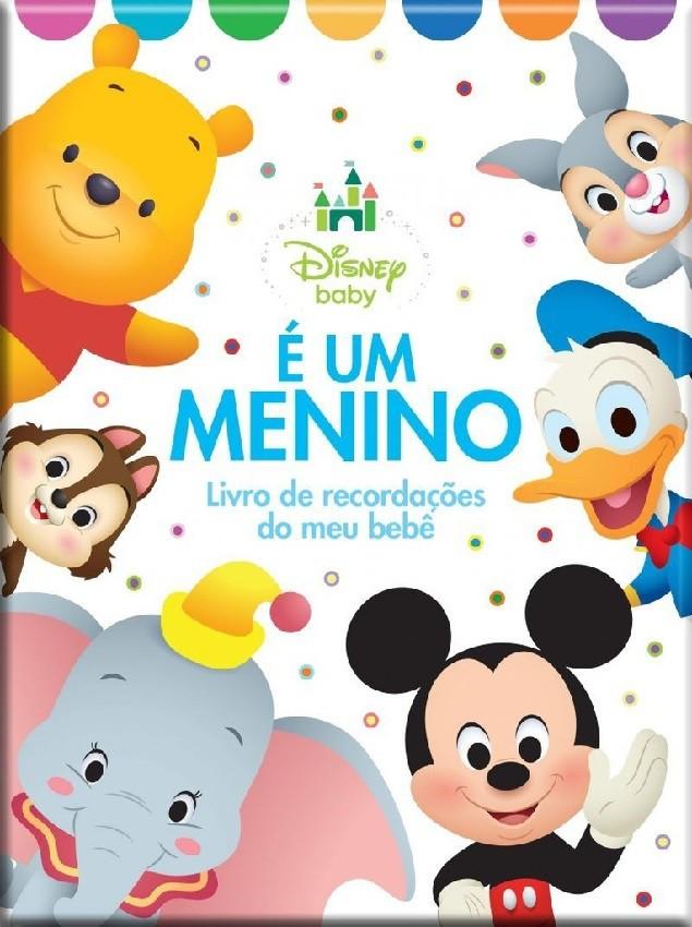 É uma Menino - Livro de Recordações do meu Bebê - Disney Baby