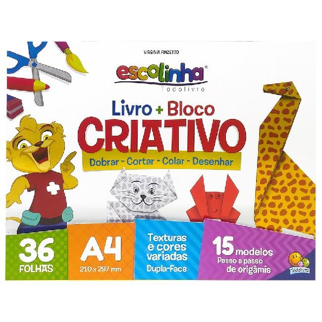 Escolinha Livro + Bloco Criativo | Origami