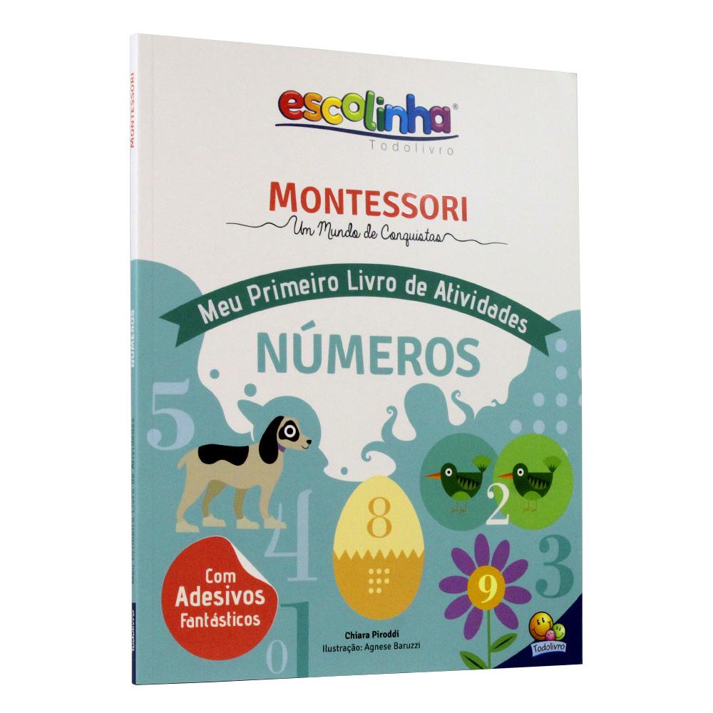 Escolinha Montessori Meu Primeiro Livro de Atividades | Números