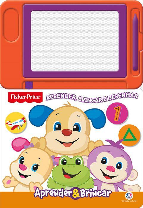 Fisher Price - Aprender, brincar e desenhar