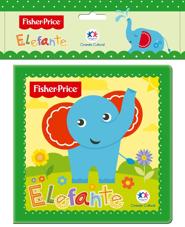 Fisher-Price - Elefante - Livro de Banho