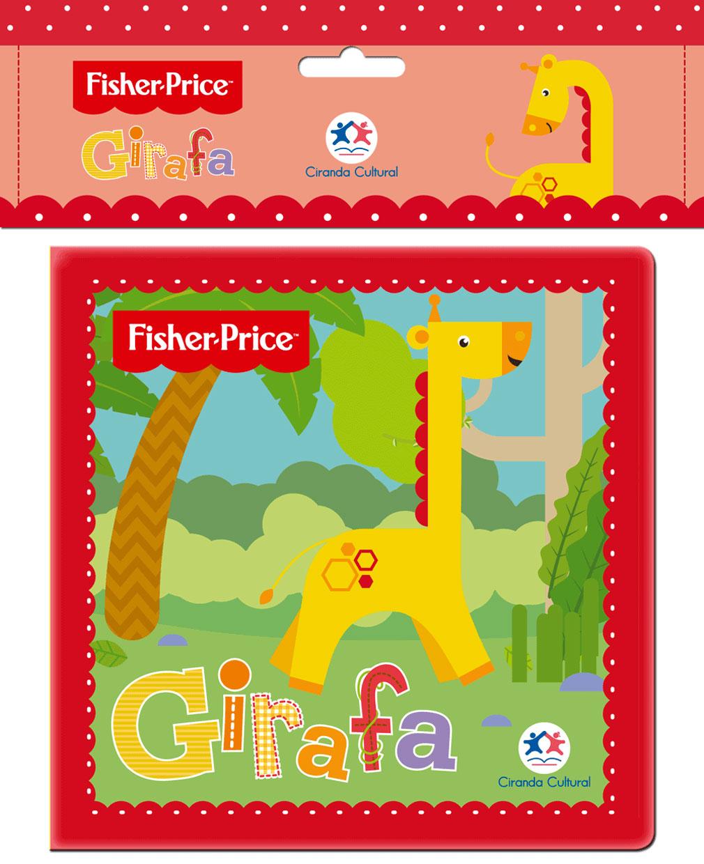 Fisher Price - Girafa - Livro de Banho