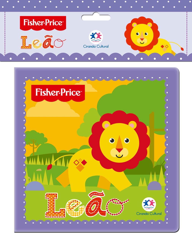 Fisher Price - Leão - Livro de Banho