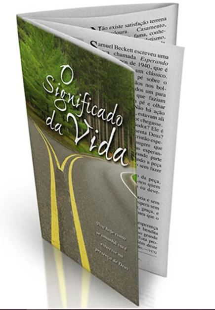 Folheto Evangelístico O Significado da Vida | 20 unds.