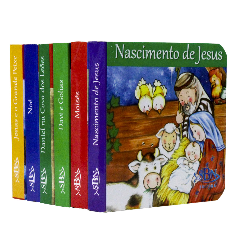 Histórias da Bíblia | Maletinha - Kit 6 un