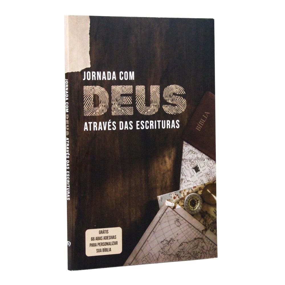 Jornada com Deus Através das Escrituras | Capa Mapa | + adesivos