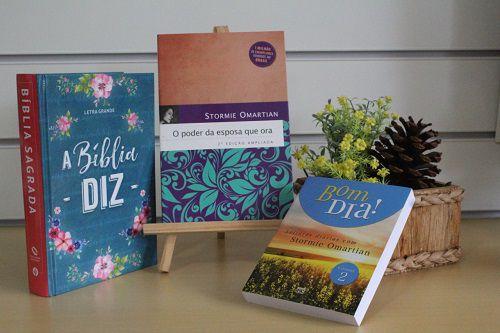Kit 01 | A Bíblia Diz | Poder da Esposa que Ora | Bom Dia Stormie Omartian