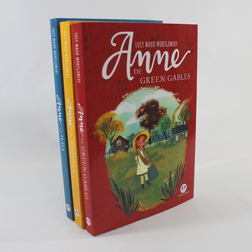 Kit 01 Anne Cabelos Ruivos - Anne Avonlea - Anne da Ilha