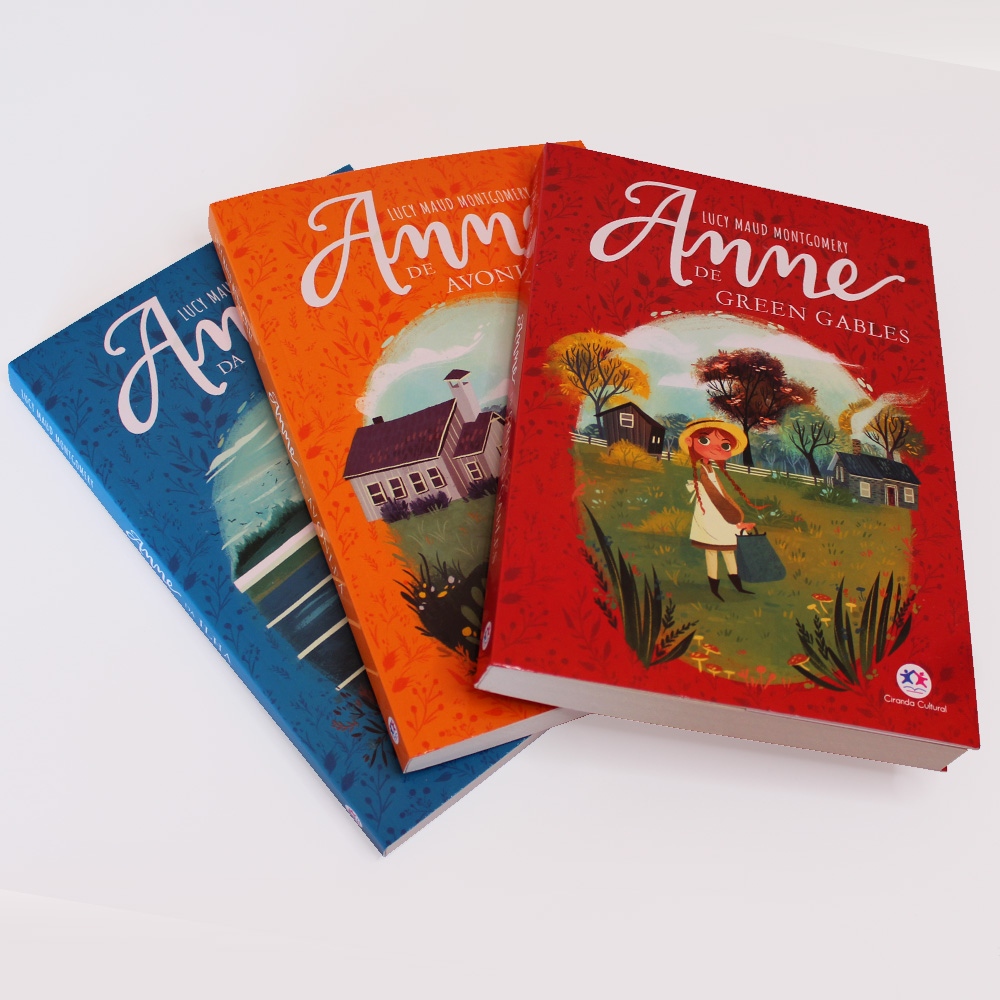 Kit 01 | Anne De Green Gables | Anne Avonlea | Anne da Ilha