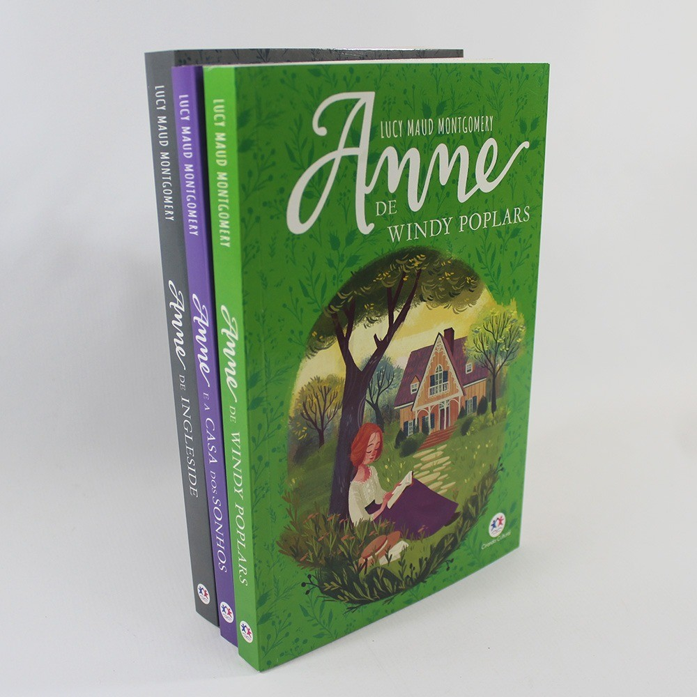 Kit 02 Anne Windy Poplars - Anne e a casa dos sonhos - Anne de Ingleside
