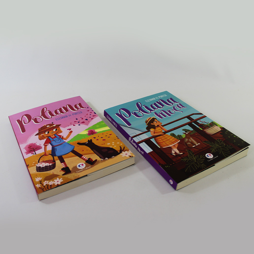 Kit 02 Livros Poliana e Poliana Moça | Eleanor H. Porter