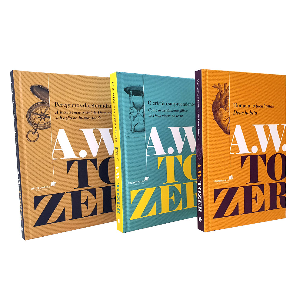 Kit 03 Livros A. W. Tozer Capa Dura | Filhos de Deus