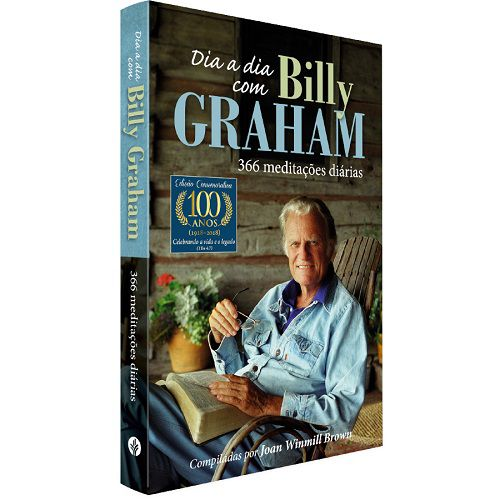 Kit 04 - A Bíblia Diz | Dia a Dia Billy Graham | Caneta Luxo