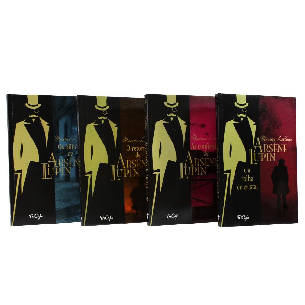 Kit 04 Livros | Arsène Lupin | TriCaju