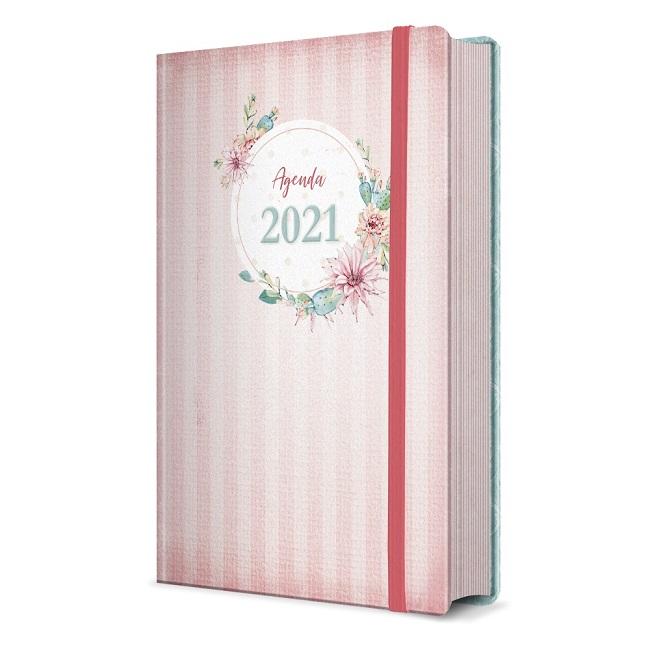 Kit 05 Agendas | Agenda Feminina 2021 Bolso | Pão Diário