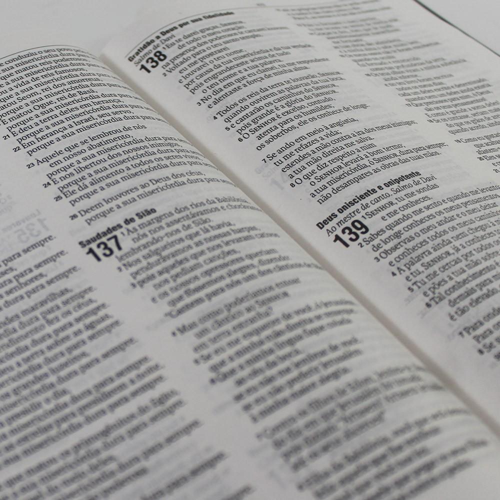 Kit 05 Bíblias NAA | Capa Dura