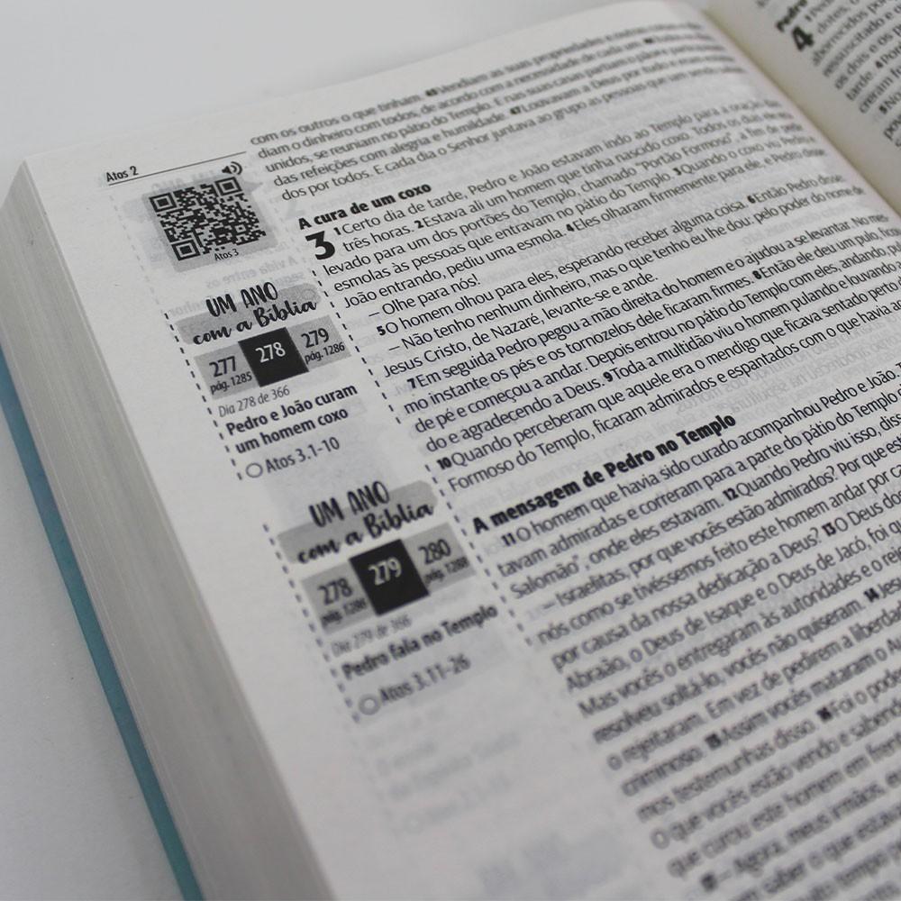 Kit 05 Bíblias NTLH Youversion Rosa de Saron | Soft Touch