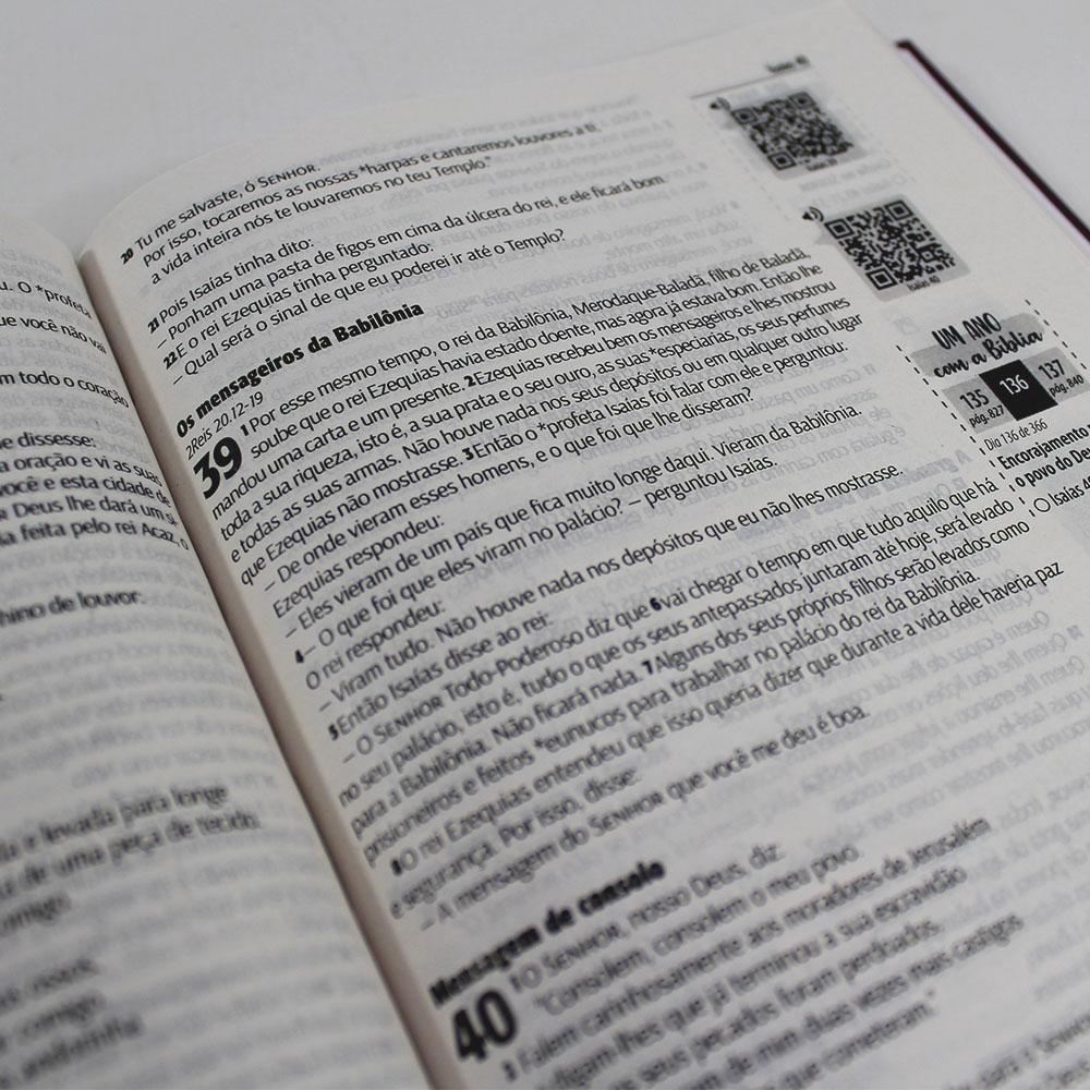 Kit 05 Bíblias NTLH Youversion Rosa de Saron   Soft Touch