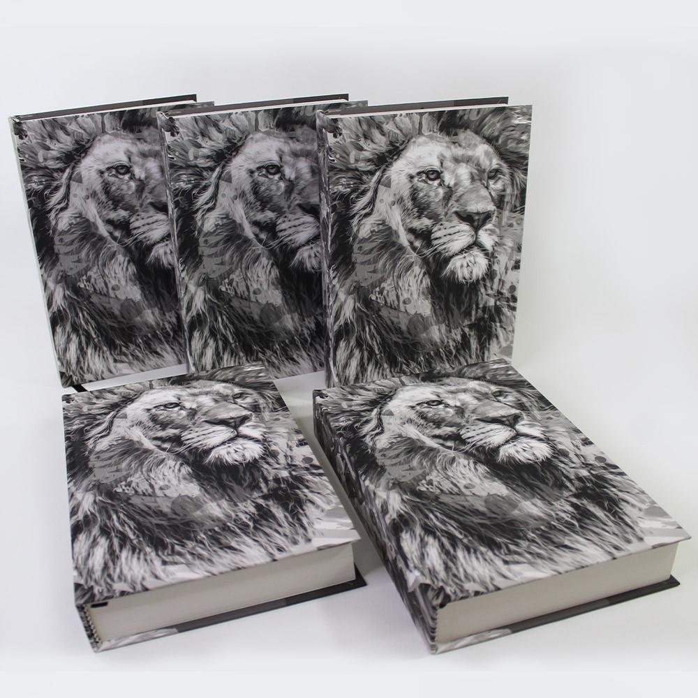 Kit 05 Bíblias NTLH Youversion The Lion P&B | Soft Touch
