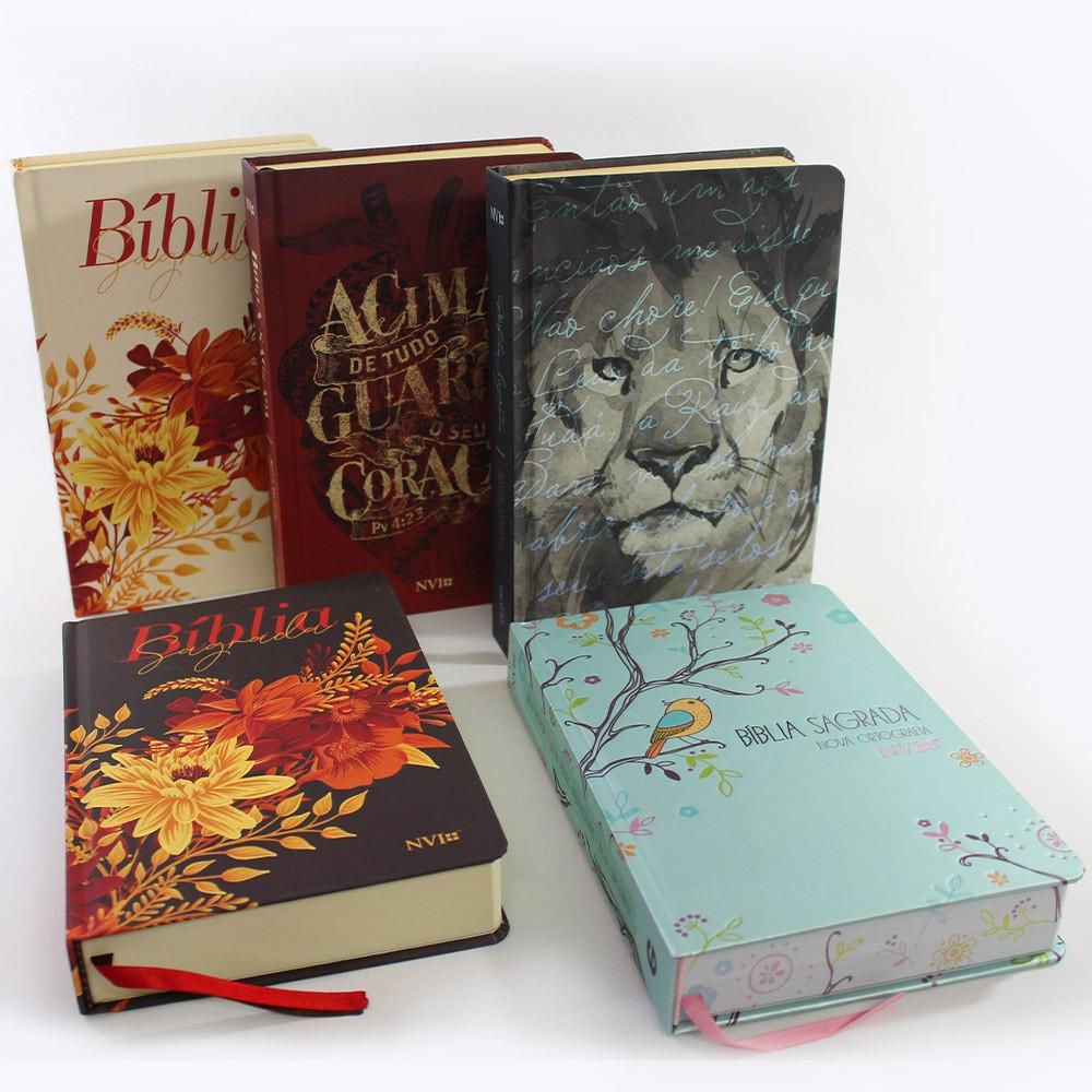 Kit 05 Bíblias NVI | Soft Touch