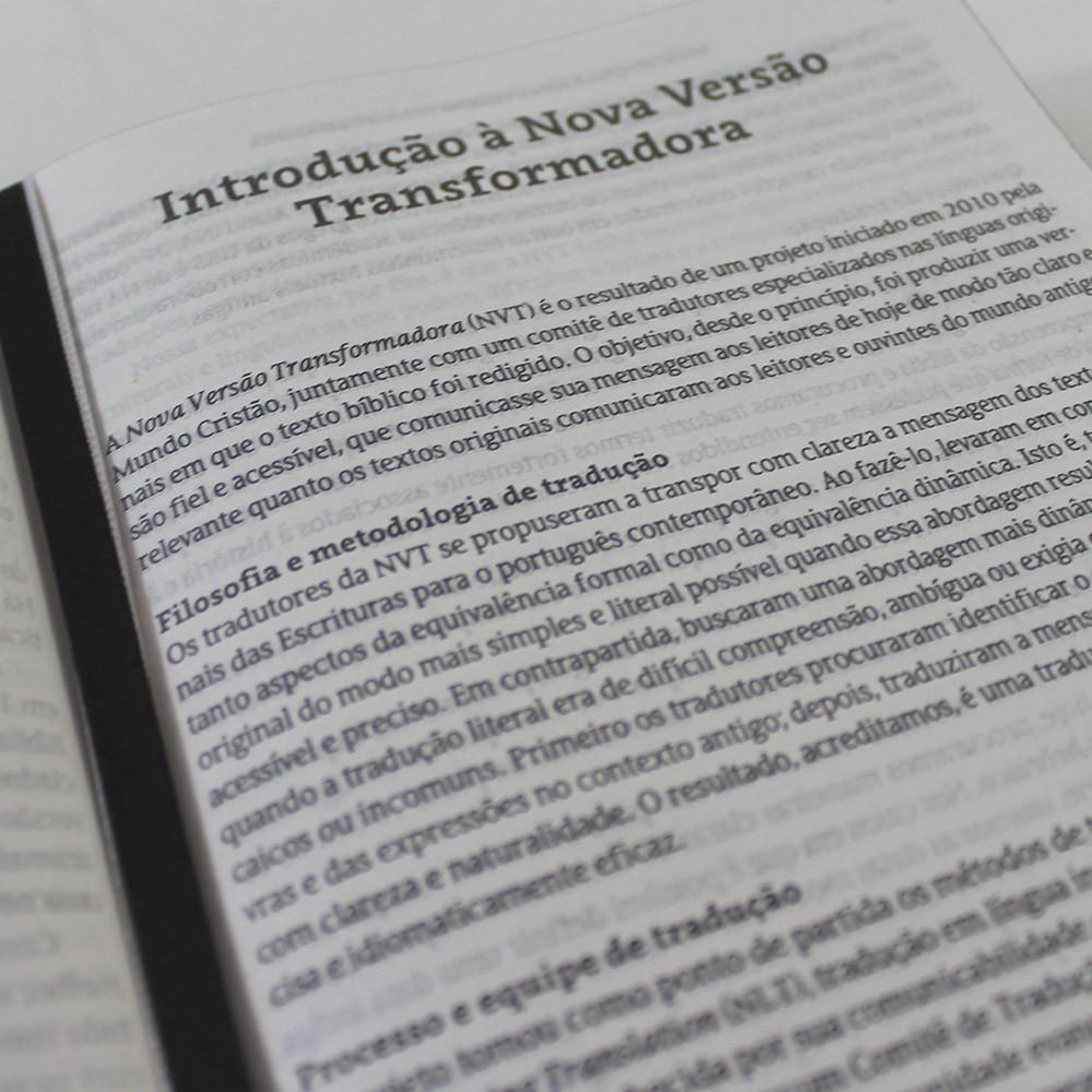 Kit 05 Bíblias NVT Cruz Jesus Cristo   Capa Dura