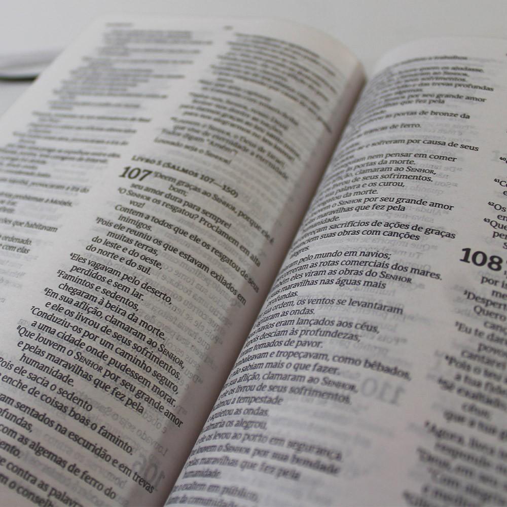 Kit 05 Bíblias NVT Flores do Campo | Capa Dura